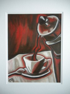 Coffee in the Red Room